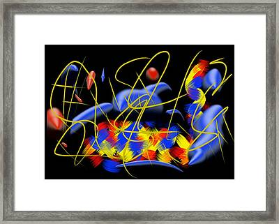 Blown Framed Print
