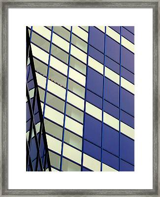 Blue 1114 Framed Print