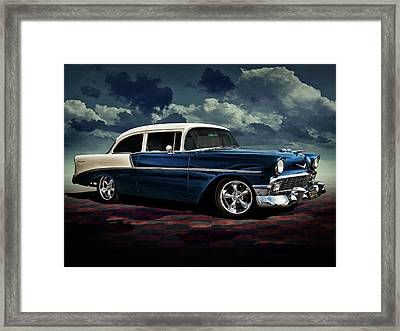 Blue '56 Framed Print by Douglas Pittman