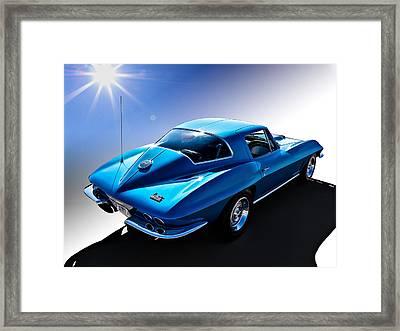 Blue '67  Framed Print