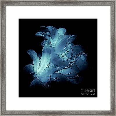 Blue Abstract No. 1 Framed Print
