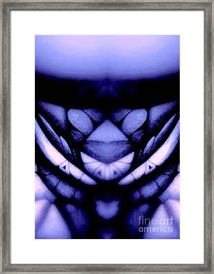 Blue Abstraction Framed Print