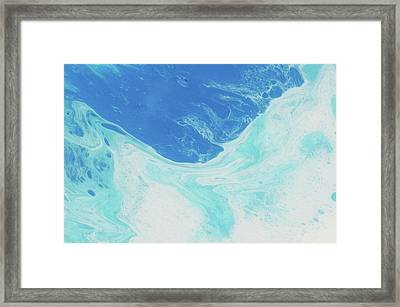 Blue Abyss Framed Print