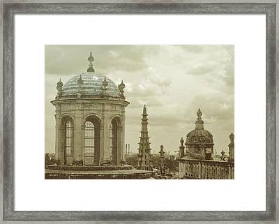 Blue Against Blue Framed Print by JAMART Photography