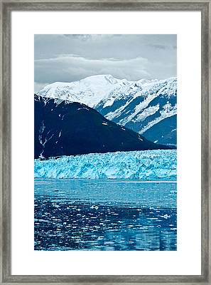 Blue Alaska Framed Print