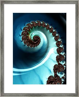 Blue Albania Framed Print