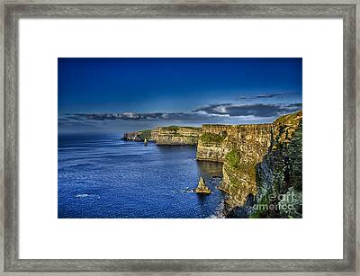 Blue Framed Print by Alessandro Giorgi Art Photography
