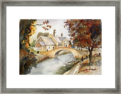Blue Anchor Tavern Framed Print
