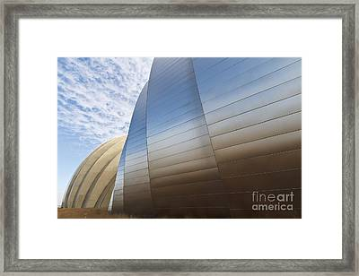 Blue And Gold Framed Print by Dennis Hedberg