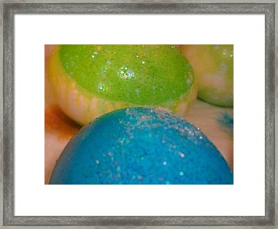 Blue And Green Framed Print by LDPhotography Stephanie Armstrong