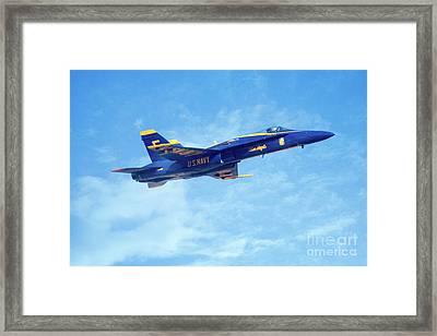 Blue Angel #5 In Arizona Framed Print