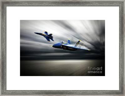 Blue Angel 5 Framed Print by J Biggadike