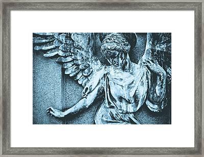 Blue Angel Framed Print by Colleen Kammerer