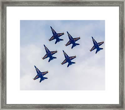 Blue Angels 2 Framed Print by Brian MacLean