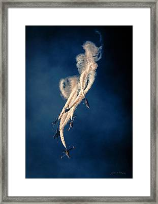 Blue Angels Breakout Framed Print