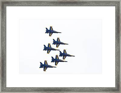 Blue Angels Framed Print by Brian MacLean