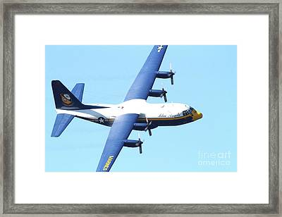 Blue Angels Fat Albert Framed Print by Wingsdomain Art and Photography