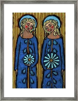 Blue Angels Framed Print by Julie-Ann Bowden