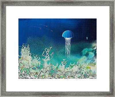 Blue Angels Framed Print by Lee Pantas