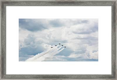 Blue Angels Framed Print by Pelo Blanco Photo