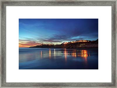 Framed Print featuring the photograph Blue As In Wonder, Not Melancholy by Quality HDR Photography