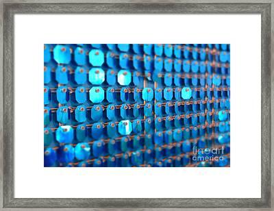 Blue Framed Print by Barbara Bardzik