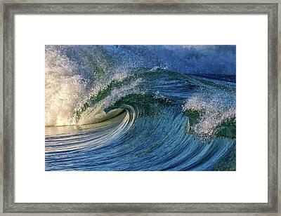 Blue Barrel Framed Print by Stelios Kleanthous