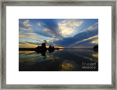 Blue Bayou 1 Framed Print by Bob Christopher