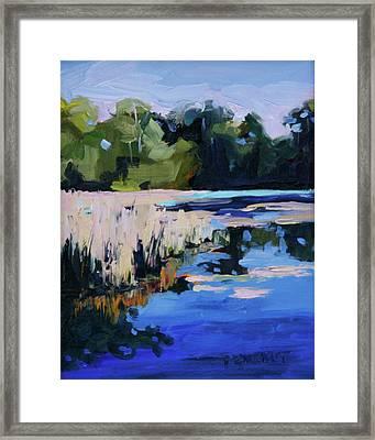 Blue Bayou Framed Print by Barbara Jones