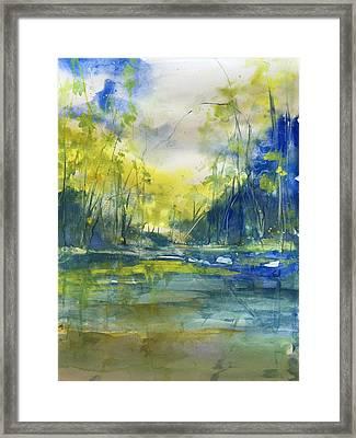 Blue Bayou Framed Print by Robin Miller-Bookhout