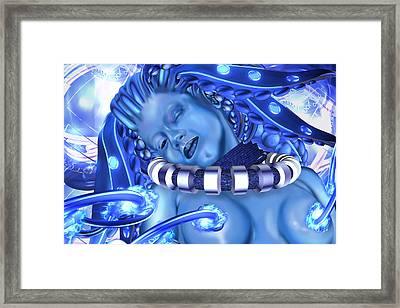 Blue Beauty 2 Framed Print by Claude-Robert Policart