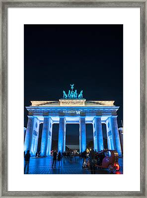 Blue Beauty  Framed Print by Nathan Wright