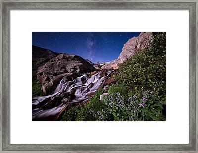 Blue Bell Falls Framed Print