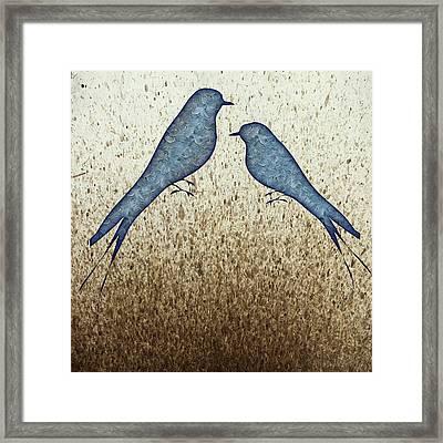 Blue Birds 2  Framed Print by Movie Poster Prints