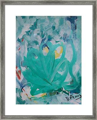 Blue Blue Framed Print by D Perry