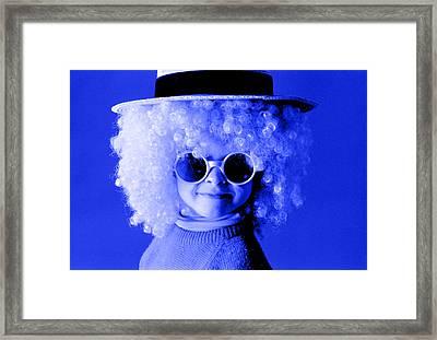 Blue Boy  Framed Print by Daniel D Miller
