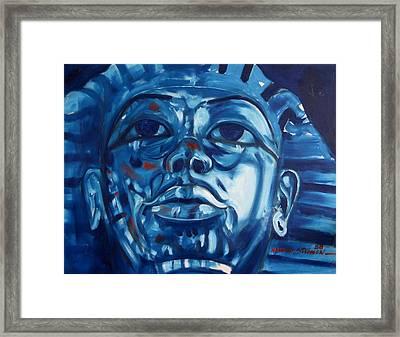 Blue Boy Framed Print by Howard Stroman