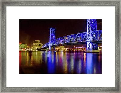 Blue Bridge 2 Framed Print