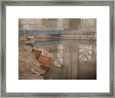 Blue Bridge Framed Print by Stefan Beltzig
