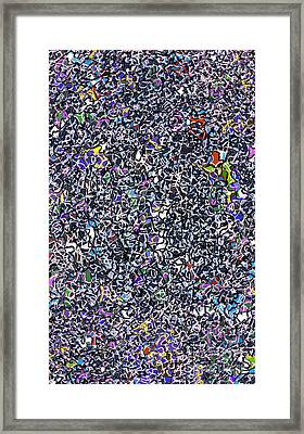 Blue Complex  Framed Print by Andy  Mercer