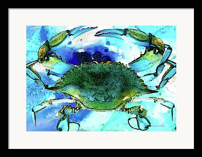 Catch Mixed Media Framed Prints