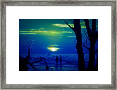 Blue Dawn Framed Print by Jim Cook