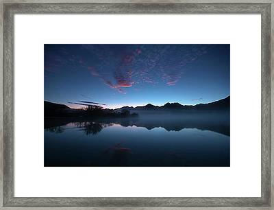 Blue Dawn Framed Print by Odille Esmonde-Morgan