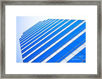 Framed Print featuring the photograph Blue Day by Yurix Sardinelly