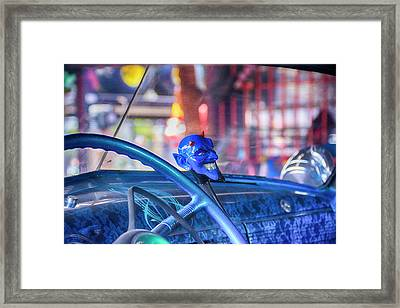 Blue Devil Framed Print