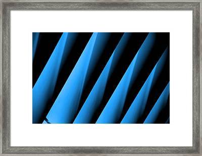 Blue Directions Framed Print by Susanne Van Hulst
