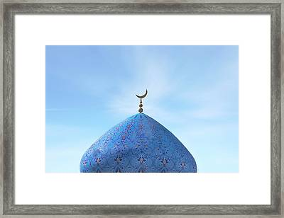 Blue Dome Framed Print by Joana Kruse
