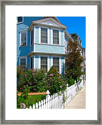 Blue Dory Framed Print by Beth Saffer