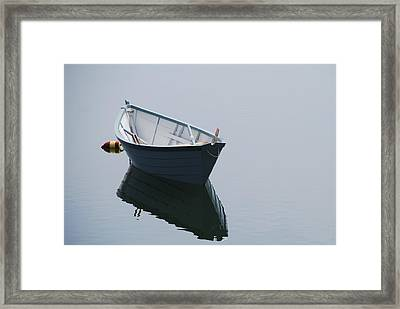 Blue Dory Framed Print by Lee Yeomans