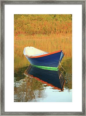 Blue Dory Framed Print